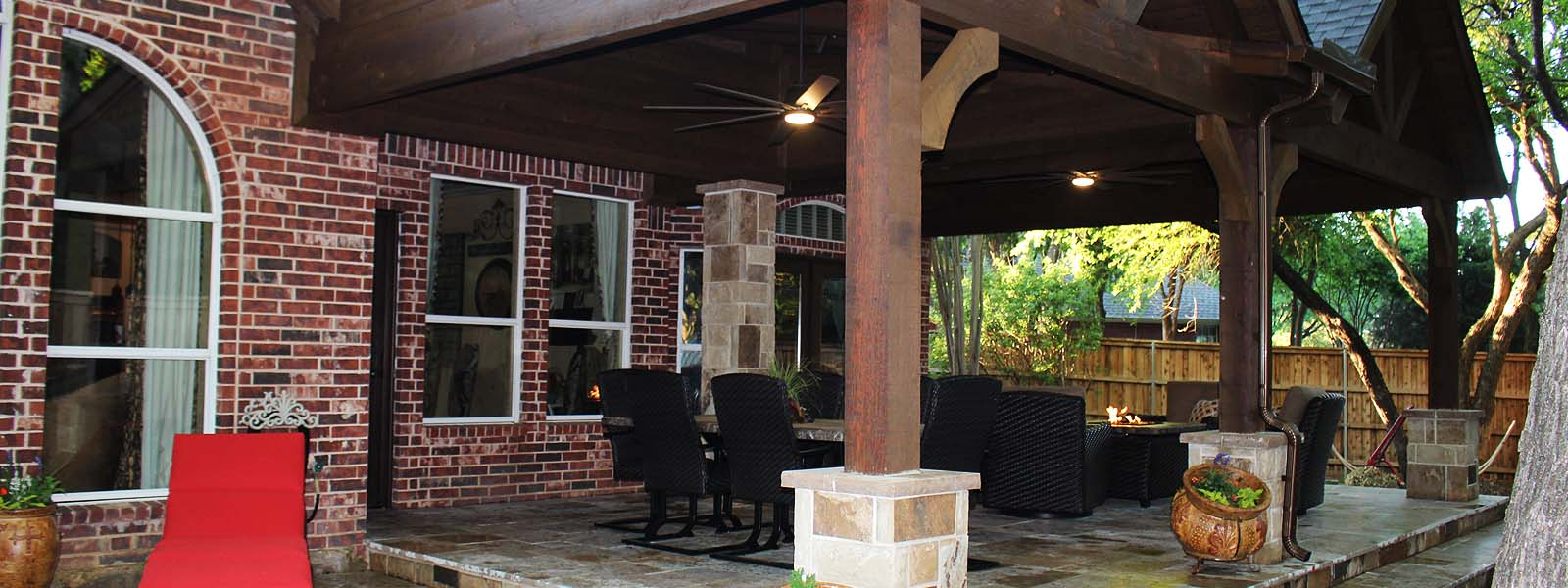 Outdoor Living Patio Cover